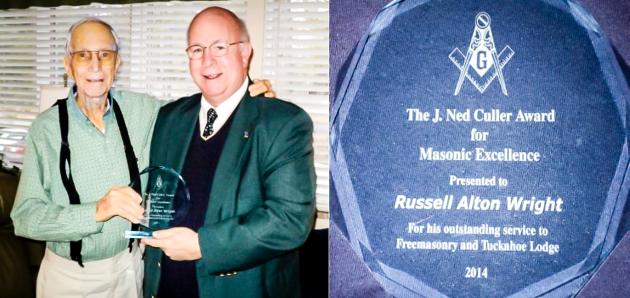 2014 J. Ned Culler Award